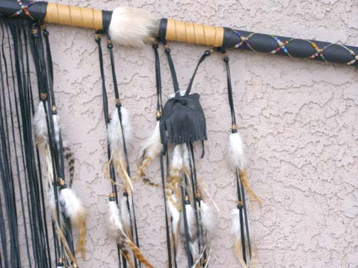 Native American War Lance and Spear
