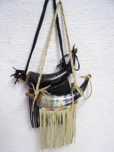 Cherokee Decorated Powder Horn