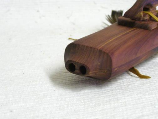 Native American Navajo Made Cedar Drone