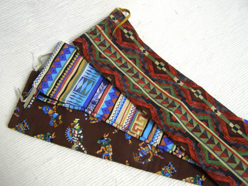 Native American Navajo Flute Bag