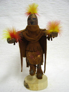 Navajo Made Aholi Chief Kachina Doll