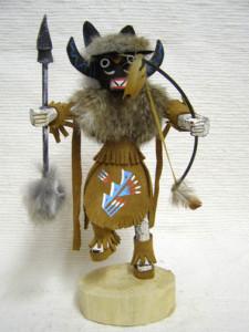 Navajo Made Ahote Warrior Dancer Kachina Doll