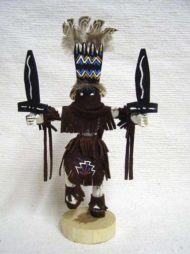 Navajo Made Apache Crown Dancer Kachina Doll