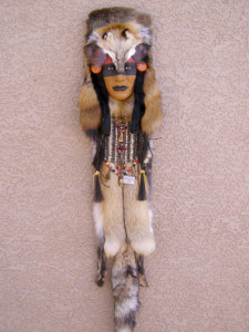 Assiniboine Walking Wolf Ceremonial Mask