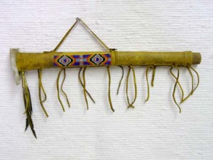 Old Style Ceremonial Laced Pipe