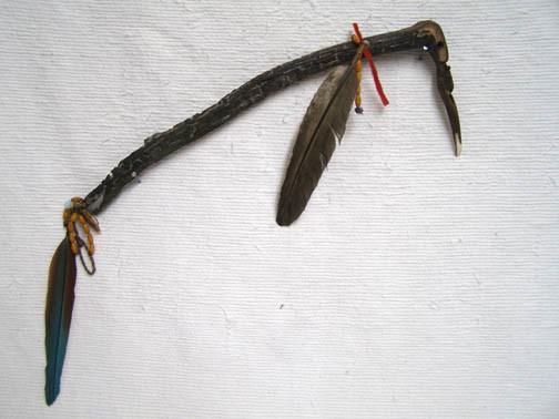 Apache Made Tomahawk with Wood Handle