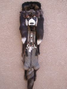 Blackfeet Warrior Ceremonial Mask