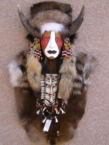 Buffalo Medicine Man Ceremonial Mask