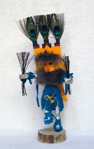 Navajo Made Butterfly Kachina Doll