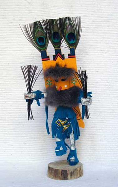 Navajo Made Butterfly Kachina Doll