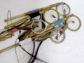 Navajo Made Mini Sticks with Dreamcatcher