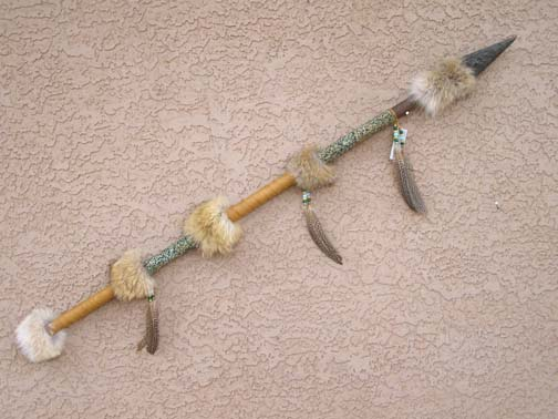 Creek Made Four Foot Coyote Spear
