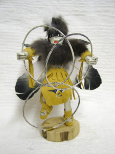 Navajo Made Ceremonial Hoop Dancer Kachina Doll
