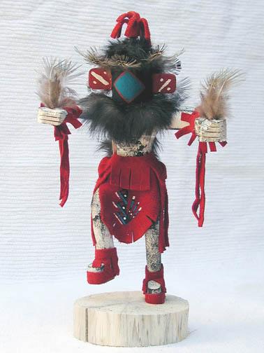 Navajo Made Chasing Star Kachina Doll