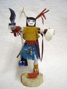 Navajo Made Clown Kachina Doll