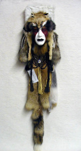 Comanche Warrior Ceremonial Mask
