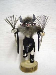 Navajo Made Cow Kachina Doll
