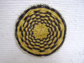 Hopi Small Wicker Plaque