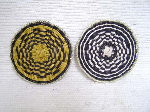 Hopi Made Small Wicker Plaque