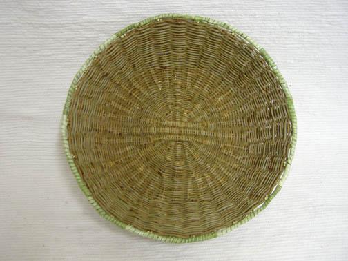 Hopi Made Peach Basket