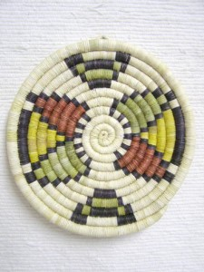 Hopi Made Coil Plaque