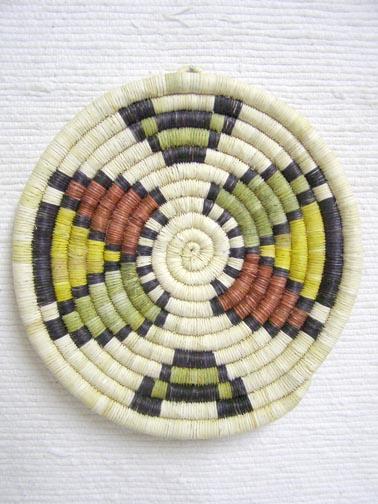 Hopi Made Coil Plaque