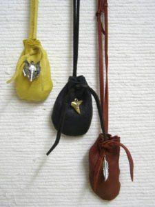 Cherokee Buckskin Medicine Bags