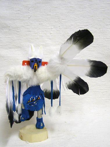 Navajo Made Descending Eagle Kachina Doll
