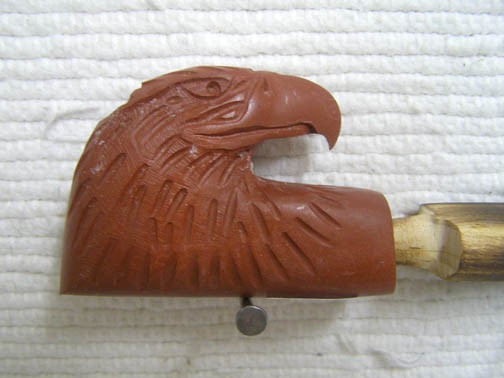 Pipestone Eagle Head Pipe