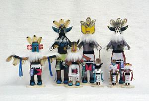 Navajo Made Fancy Tomasina Kachina Doll