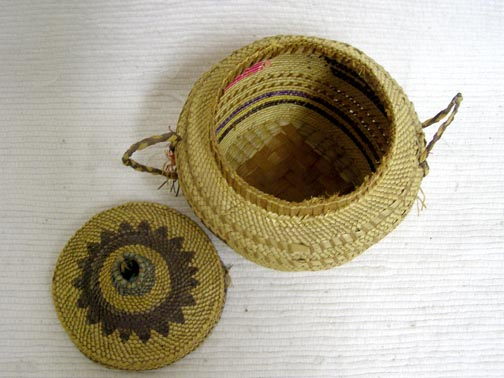 Native American Nookta Basket