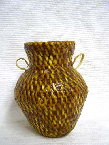 Navajo Made Pitch Basket