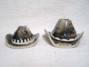 Ceramic Horsehair Cowboy Hats