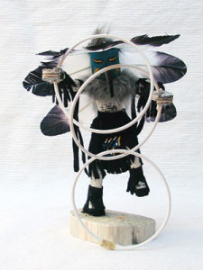 Navajo Made Hoop Dancer Kachina Dancer Doll