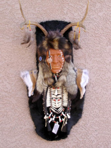 Hopi Deer Dancer Ceremonial Mask