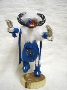 Navajo Made Hototo Warrior Kachina Doll