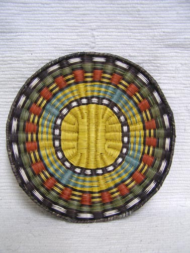Hopi Wicker Plaque