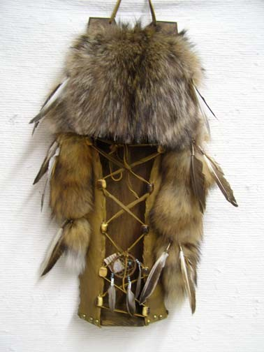 Navajo Made Coyote Cradleboard