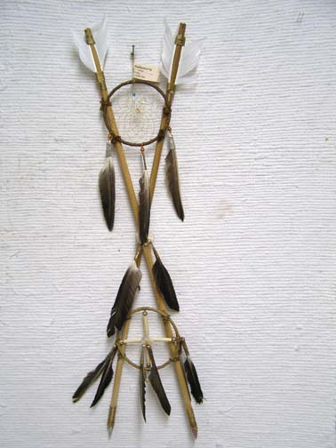Navajo Made 4-Way Crossed Arrows
