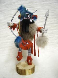 Navajo Made Left Hand Hunter Kachina Doll