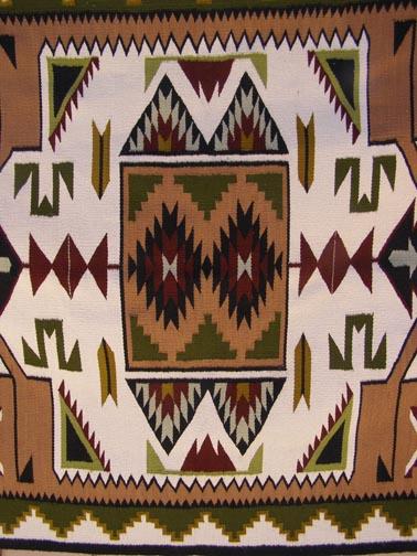 Navajo Rug - Marjorie Mannie