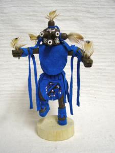 Navajo Made Mudhead Kachina Doll