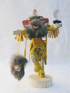 Navajo Made Priest Killer Kachina Dancer Doll
