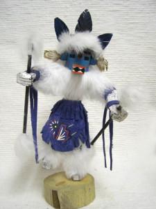 Navajo Made Ram Kachina Doll