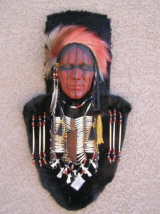 Shawnee Ceremonial Mask
