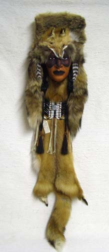 Sioux Red Fox Dreamer Ceremonial Mask