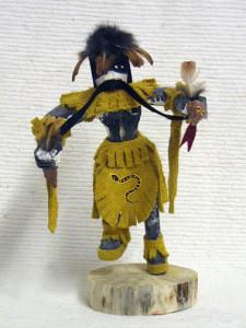 Navajo Made Snake Kachina Doll