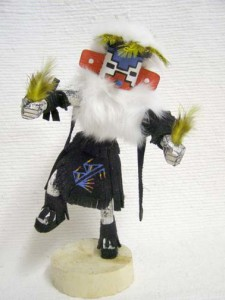 Navajo Made Snow Kachina Doll