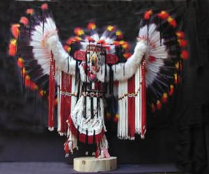 Navajo Made Specialty Fancy Eagle Kachina Doll