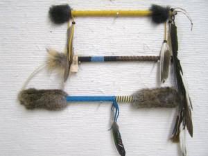 Ceremonial Talking Sticks